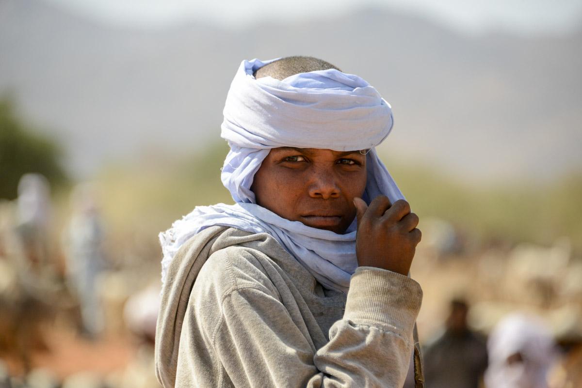 Nomaden Tsjaad jongen