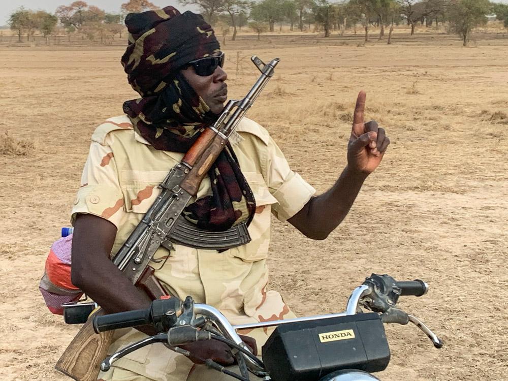 Zakouma Tsjaad ranger