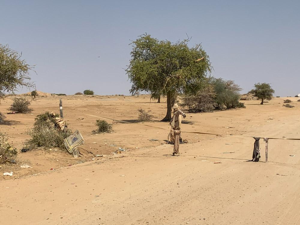 Arada checkpoint Tsjaad