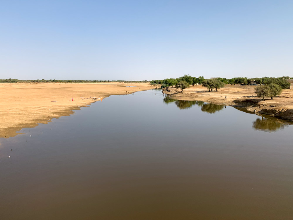 Batha rivier Tsjaad
