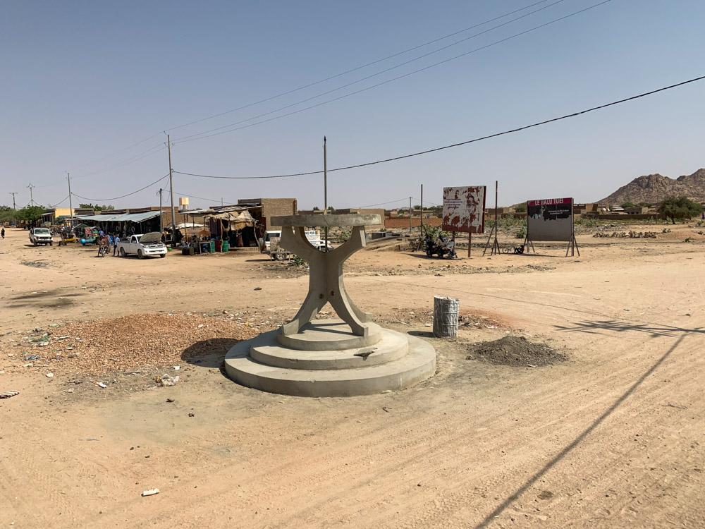 Biltine Tsjaad rotonde