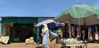 N'Djamena-straatscene