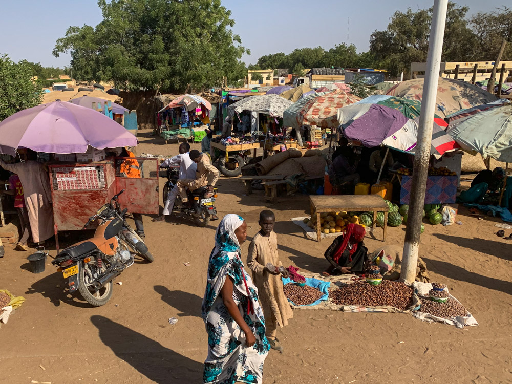 Oum Hadjer Tsjaad marktje