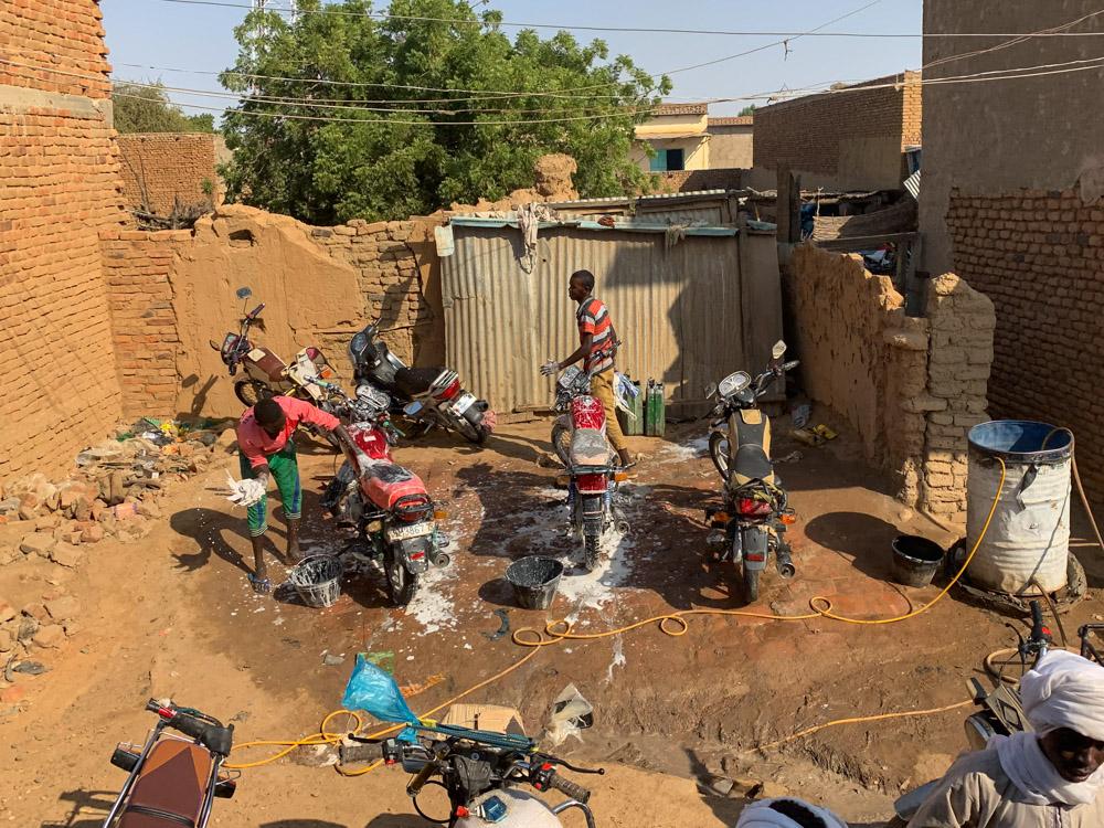 Tsjaad wasstraat