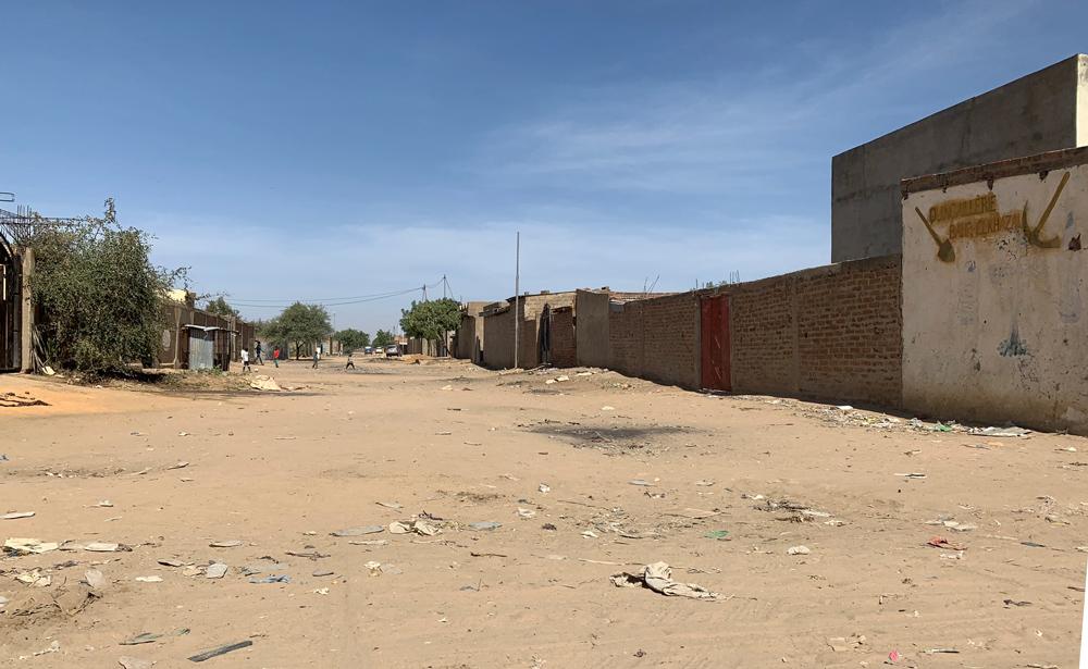 Straat in N'Djamena