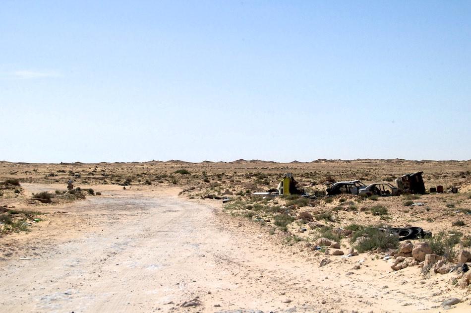 Grens Marokko Mauritanie