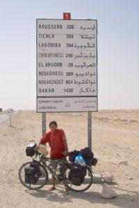 Op de fiets door de Sahara