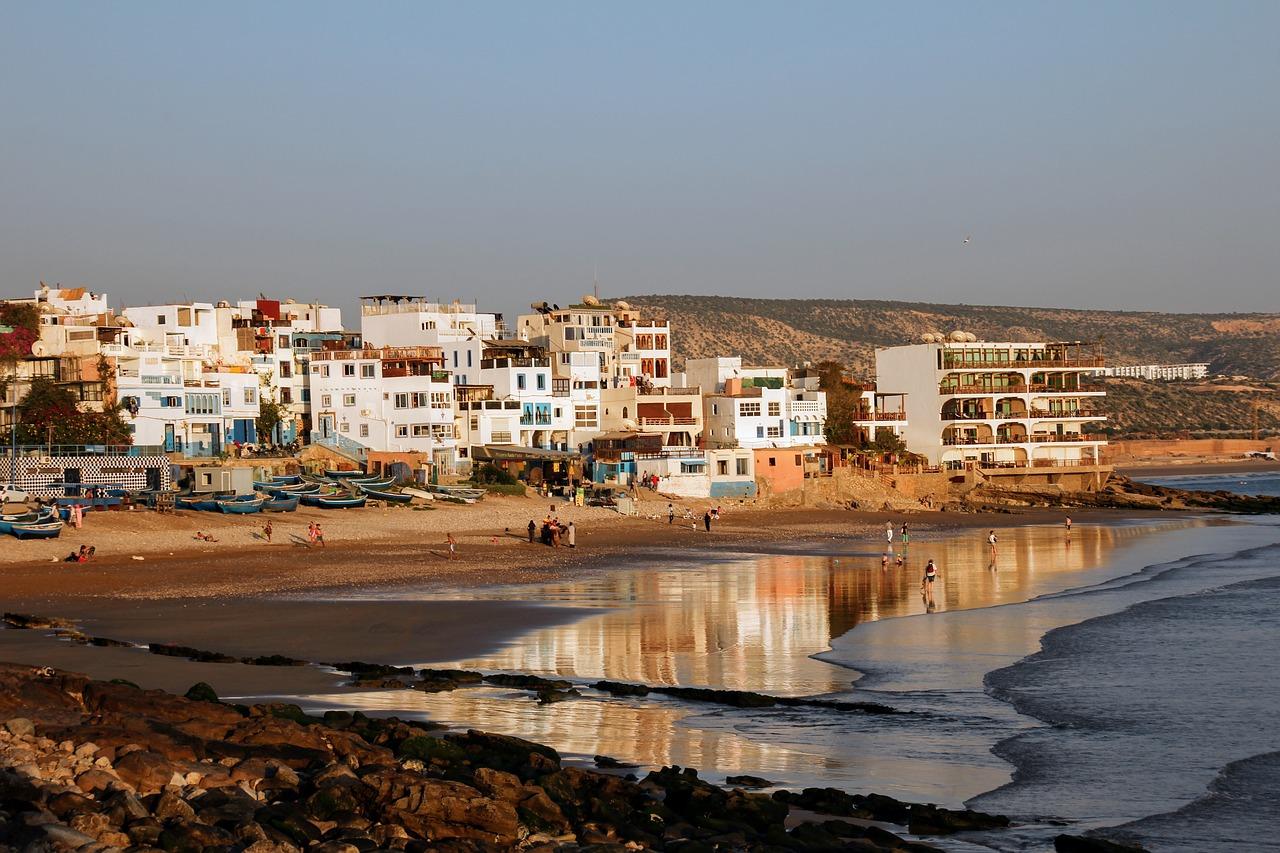 mooiste stranden in Marokko Taghazout