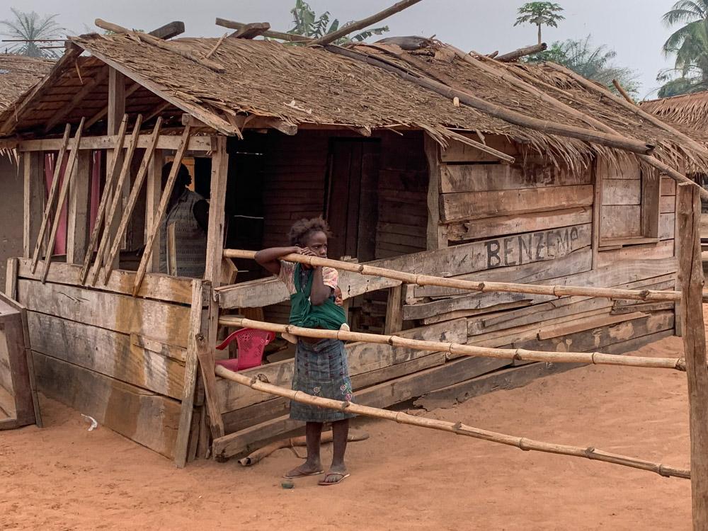 Bayanga Centraal Afrikaanse Republiek huis