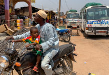 Garoua-Boulaï Kameroen motor