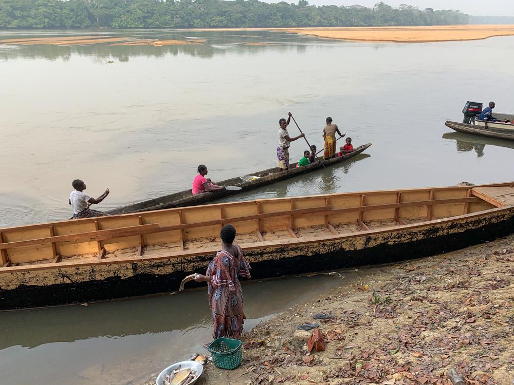 Libongo rivier Kameroen