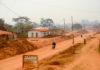 Yokodouma Kameroen straatbeeld