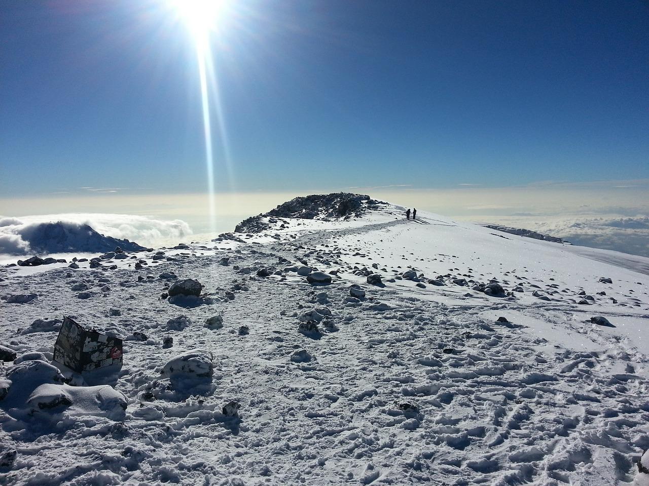 Kilimanjaro Tanzania gletcher