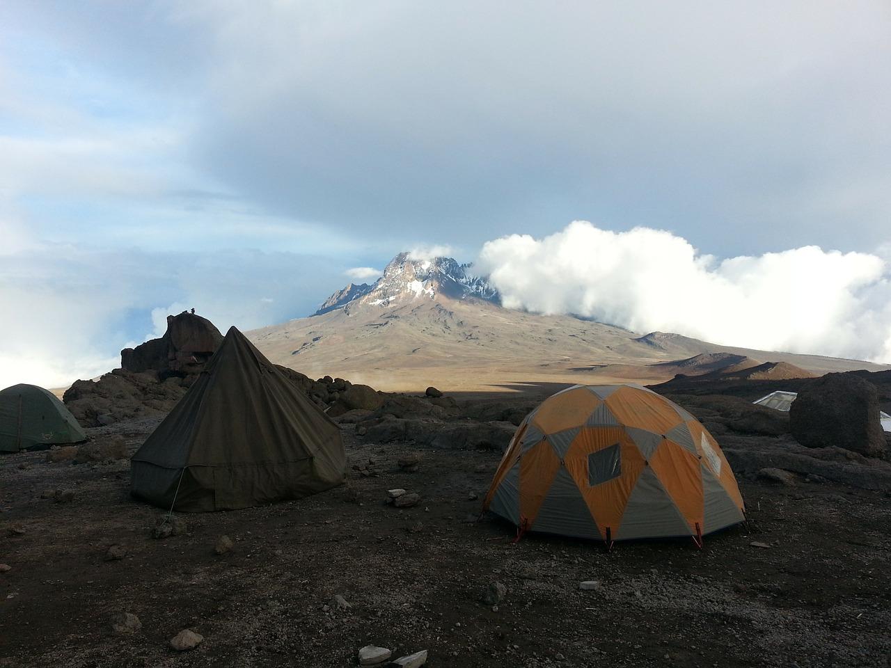 Kilimanjaro Tanzania kamperen