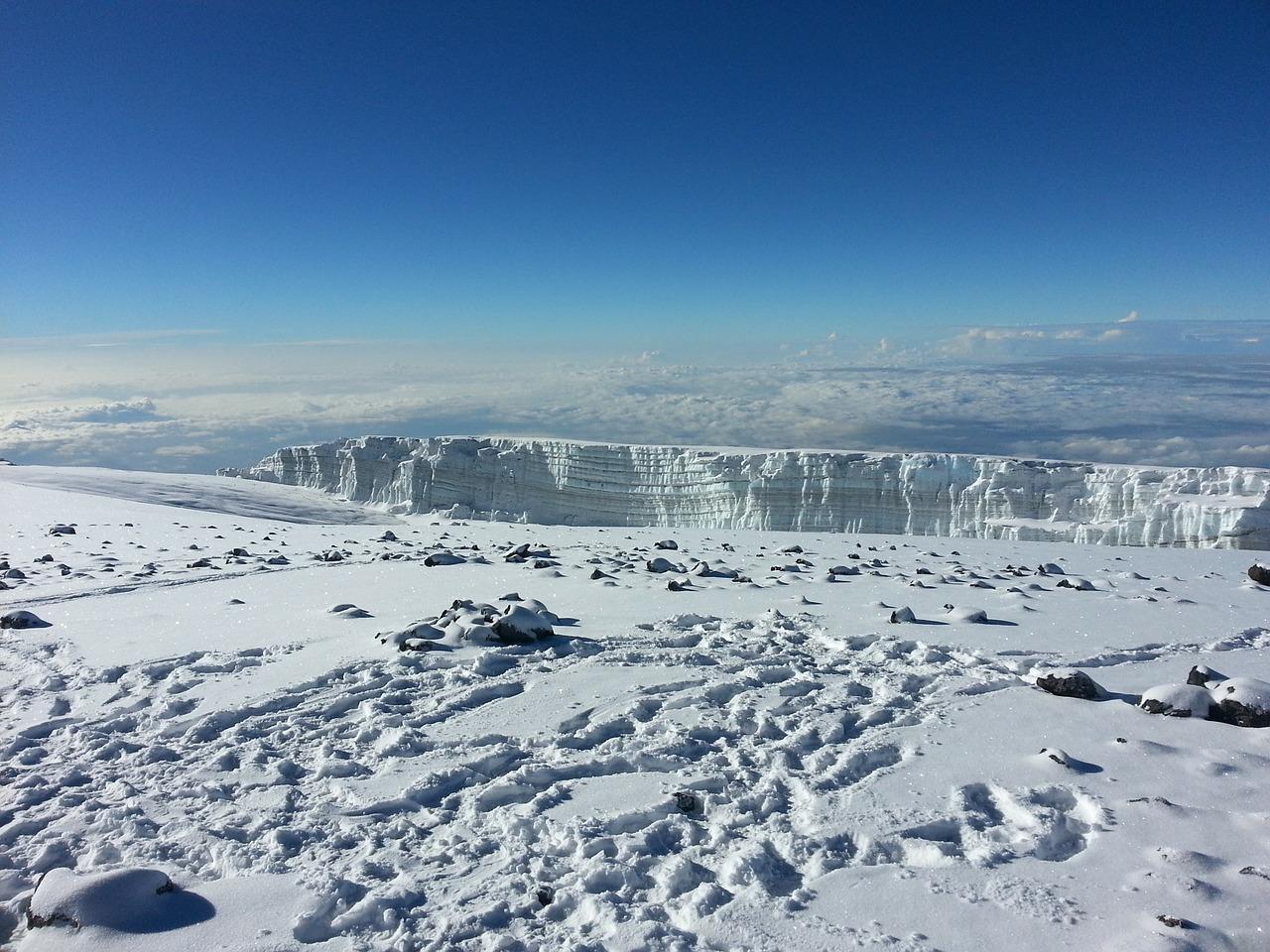 Kilimanjaro Tanzania sneeuw