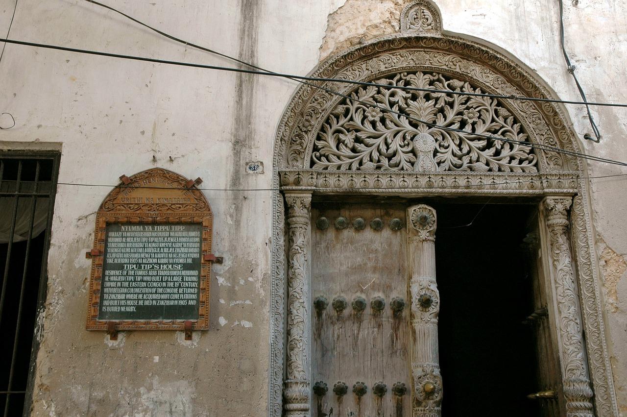 Zanzibar Stone Town deur