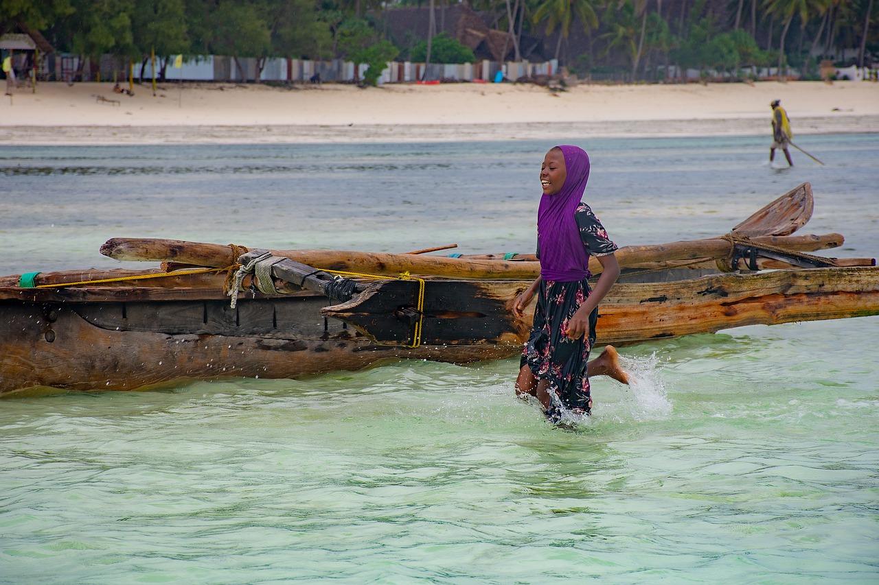 Zanzibar eiland Afrika