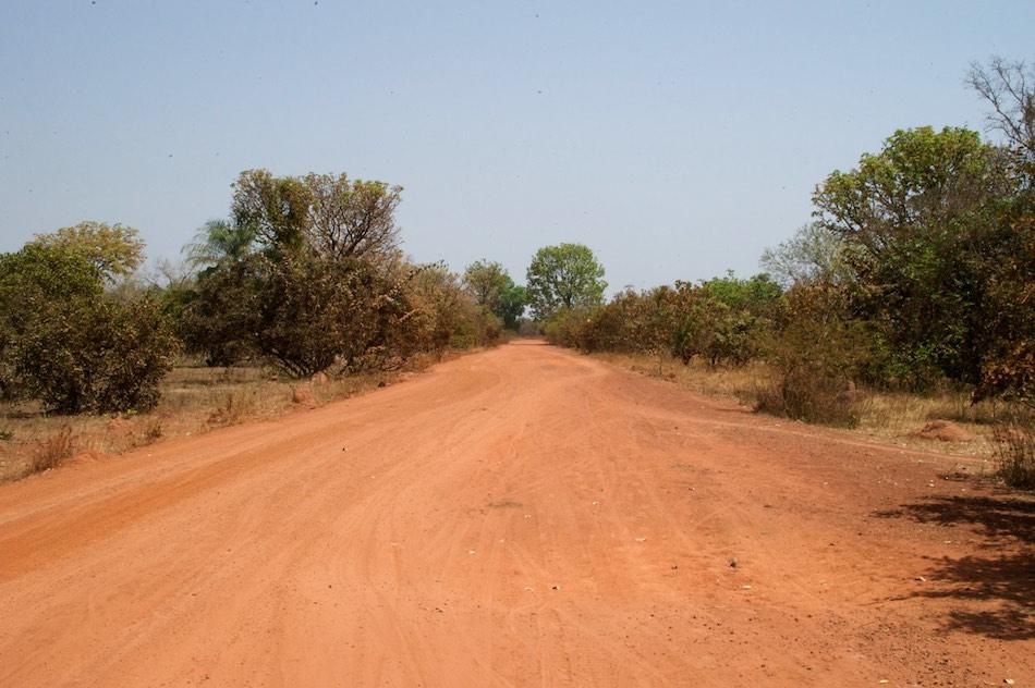 Fietsen naar Buruntuma Guinee Bissau