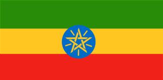 vlag van Ethiopië