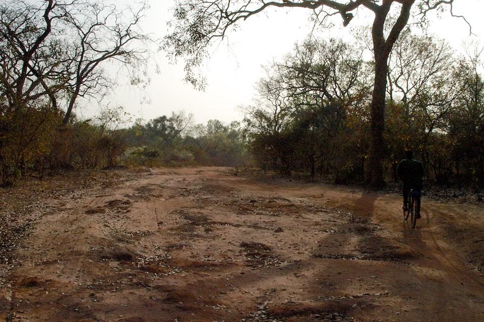Weg van Buruntuma naar Koundara