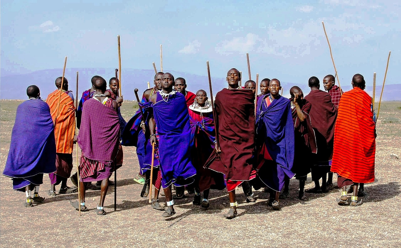 Masai Kenia