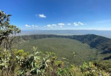 Mount Longonot National Park Kenia