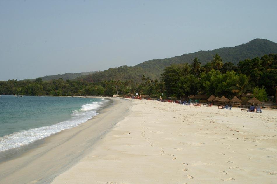 River No 2 Beach Freetown Peninsula